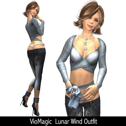 VioMagic Lunar Wind Outfit