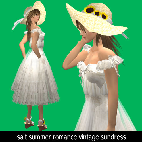 salt summer romance vintage sundress
