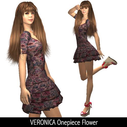 VERONICA Onepiece Flower