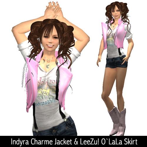 Indyra Charme Jacket & LeeZu! O`LaLa Skirt