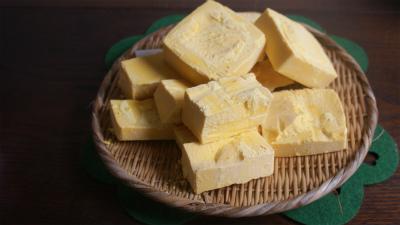 手作りアロマ石鹸を製作中!