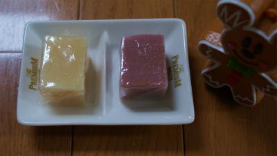 手作りアロマ贅沢石鹸のサンプルです