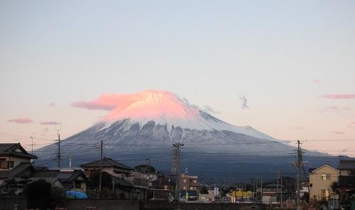 真っ白富士山 2013.12.20