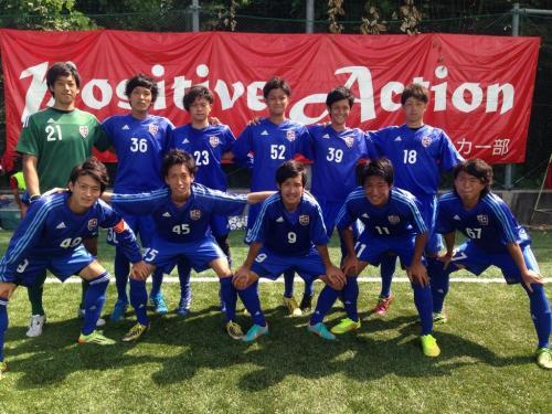 Iリーグ中国2014 第10節 「A-広島大学B」(2014:9:15 月)