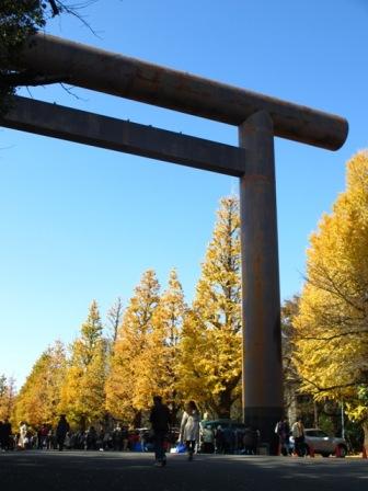 2013.12.7靖国神社1