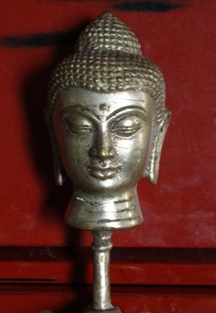2013.12.6靖国神社フリマの仏頭