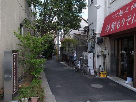 千住の路地メンズギャラリー福田前