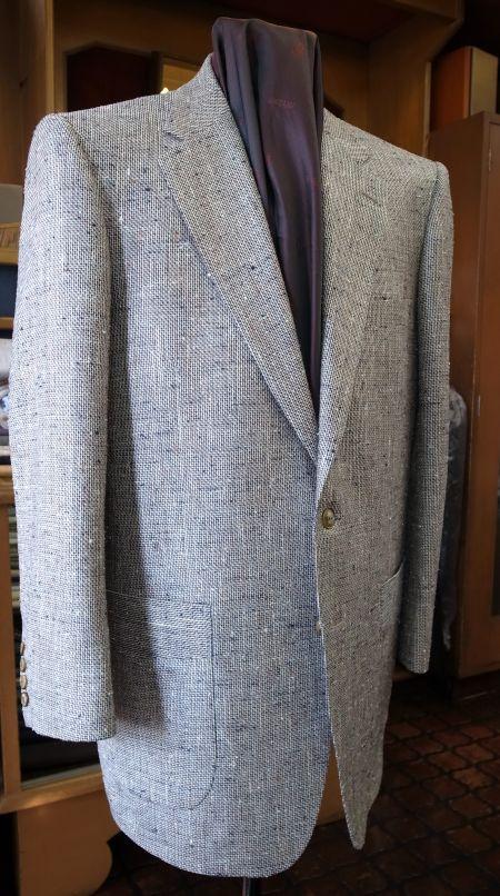 AGNONAのシルクウールのオーダージャケット