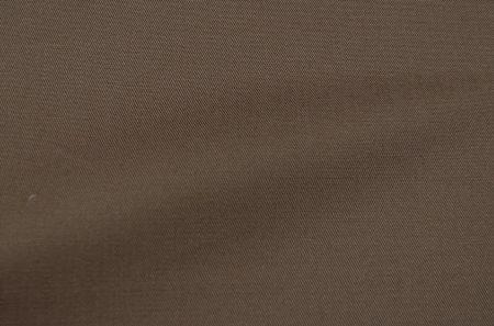sondrioのストレッチコットン・ライトブラウン色。オーダーコットンストレッチ向き