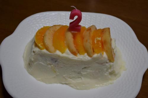 バースデーケーキ福2歳