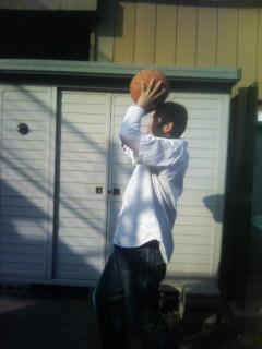 バスケ練習 ^^