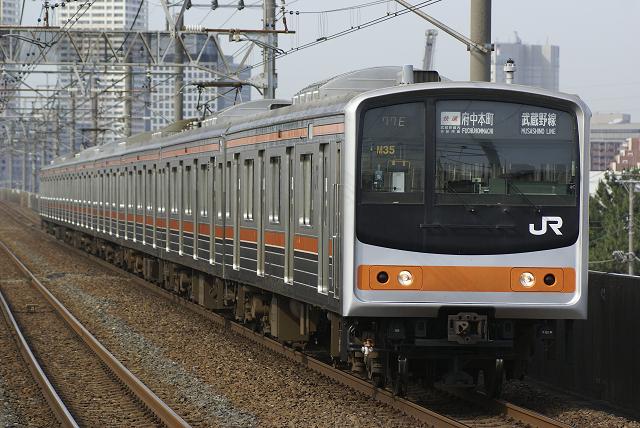 205系 武蔵野快速