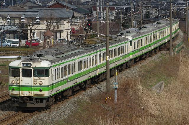 新潟 115系 S13