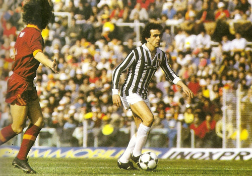 Michel PLATINI Juventus de Turin 1982 83