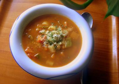 111001の朝スープ