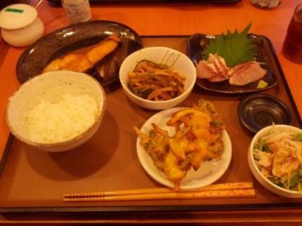 この日の夕飯