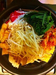 s-一人キムチ鍋