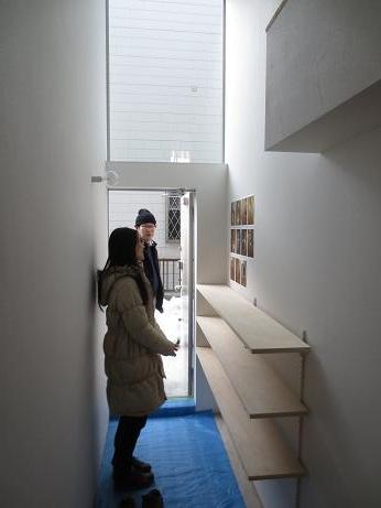 立川アパートNo3玄関棚2