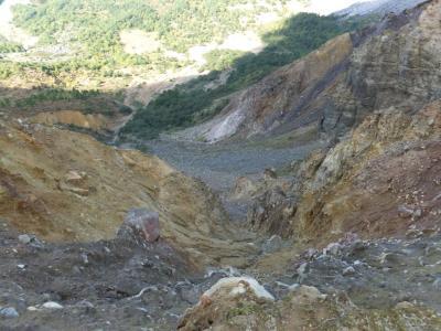 磐梯山北壁