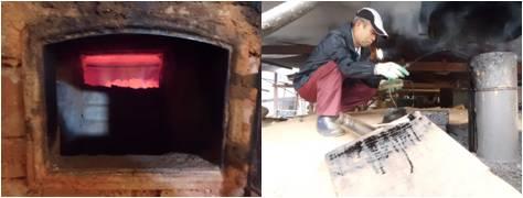 炭窯&温度