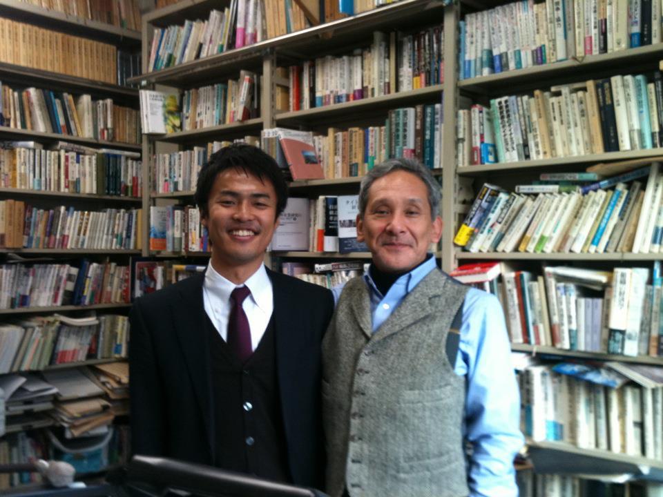 米倉誠一郎先生との写真