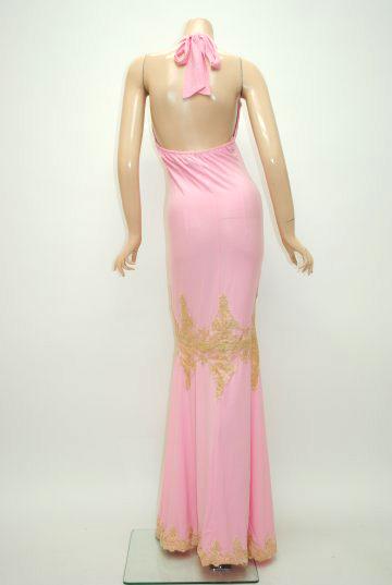 シャーリング☆クラシックレース ロングドレス