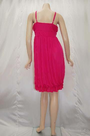 バラ飾り付きふわカワ ショートドレス