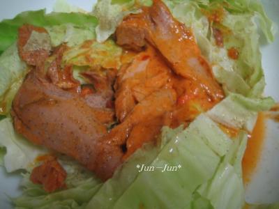 タイカレーサラダ