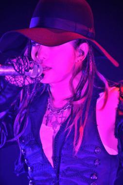 ラルクアンシェルパリライブ画像Hyde