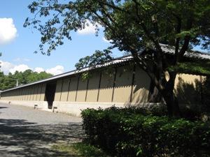 京都迎賓館築地塀