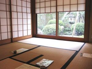 山田松 茶室