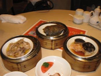 老香港酒家 蒸し物1