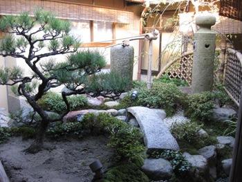 大安苑 舞妓の庭 水琴窟