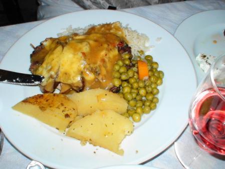 ナクソス オニーロのポークオーブン焼き