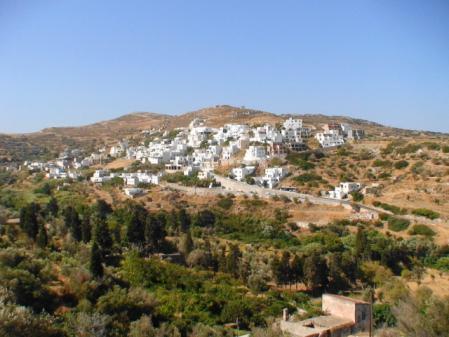 ナクソス 内陸部の村