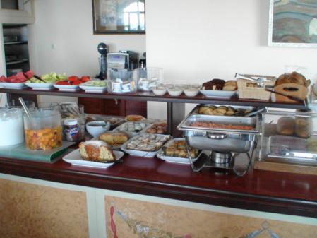 ナクソス グロッタホテルの朝食
