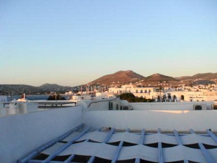 パロス ホテルの部屋からの眺め