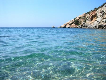 プロウリバティビーチの水