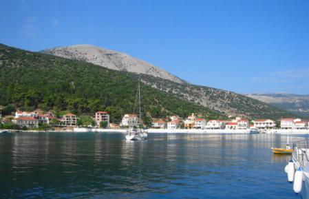 アギア・エフィミアの港