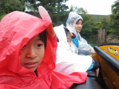 暴風雨のUSJ旅行
