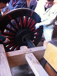 車輪の整備 2