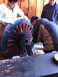 車輪の整備 1