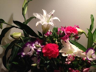 ママへの花