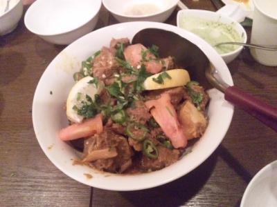 140112大阪ハラールレストラン7ビーフカラヒ