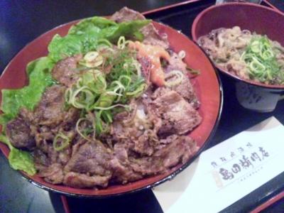 140129二代目亀田精肉店ステーキ丼500円