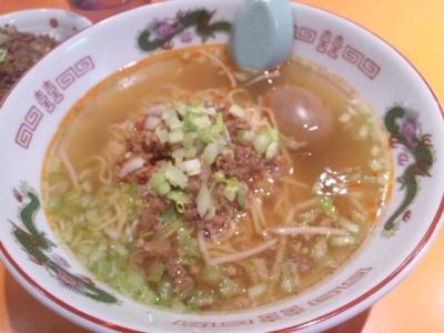 140201味仙なんこめ店担仔麺700円