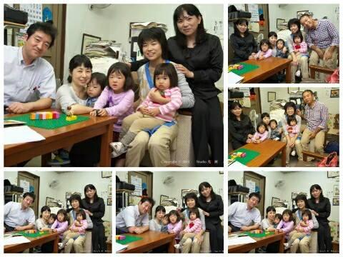 平成26年10月5日家族と写真
