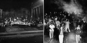 la Marcha Nacional de las Antorchas