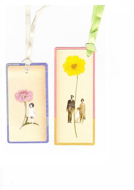 押し花の栞 1