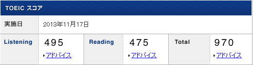 2013 11 result